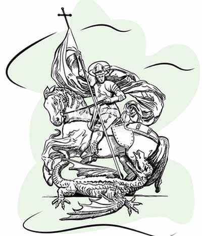 Saint-George-kill-The-Dragon