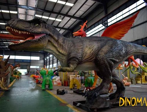 Animatronic Dinosaur Production Process and Installation