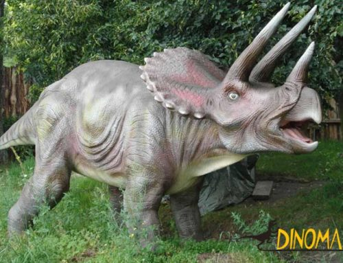 Why are some of animatronic dinosaurs are movable?