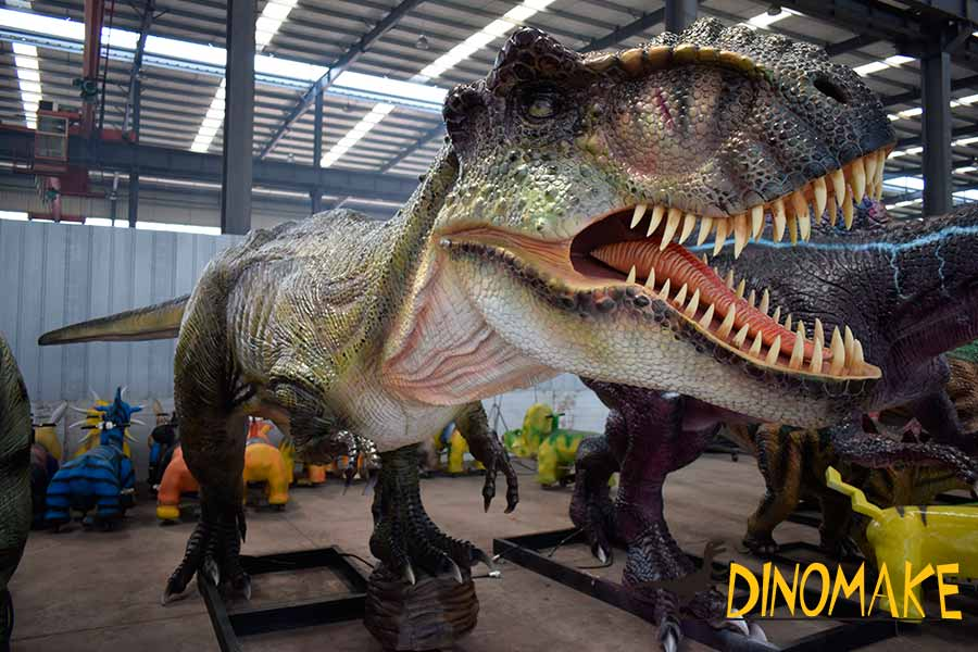 High quality animatronic dinosaur