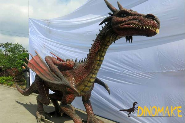 animatronic dragon ornaments