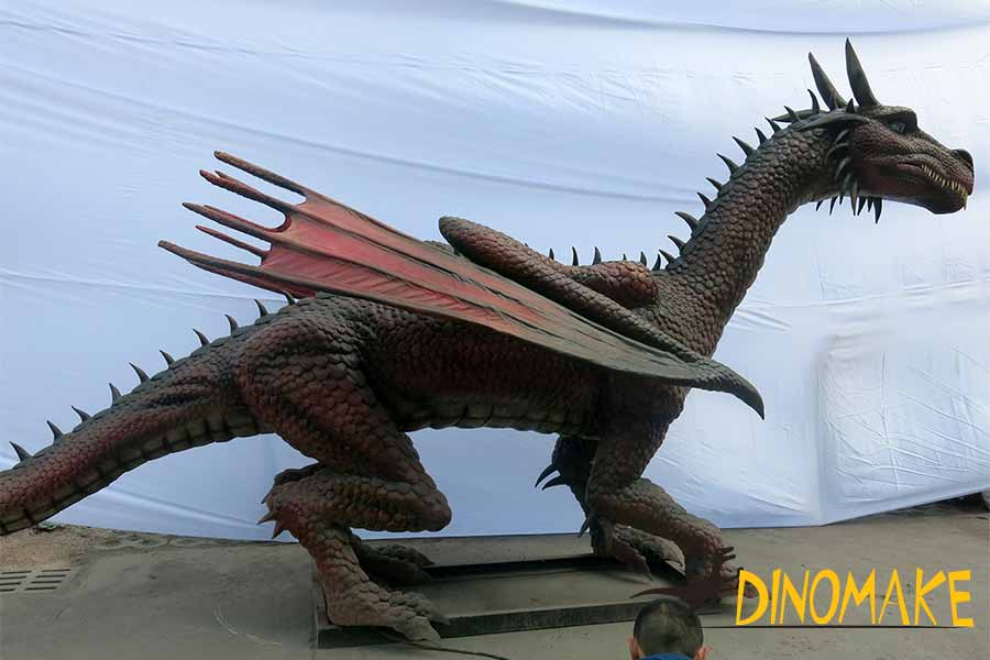 animatronic dragon ornaments