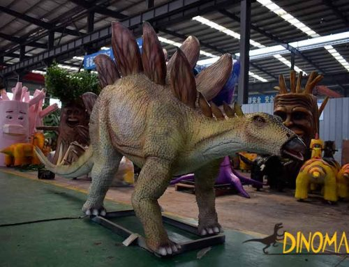 Animatronic dinosaurs are ready to ship abroad