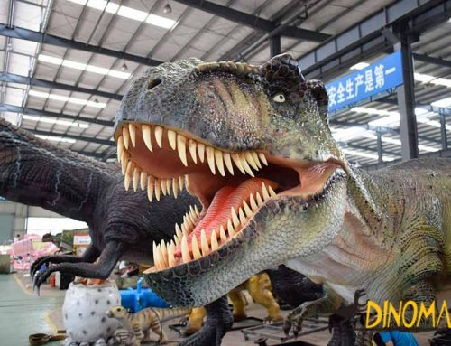 How to Make the Skin Details of the Animatronic Dinosaurs?