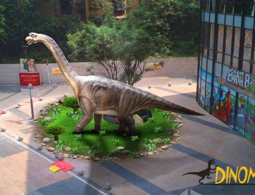 Dinosaur exhibition helps real estate sales