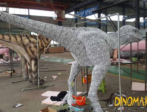 Will the new material for dinosaur costume fade?