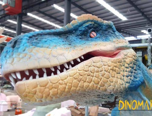 What's the difference between teeth of animatronic dinosaurs and a dinosaur costume?