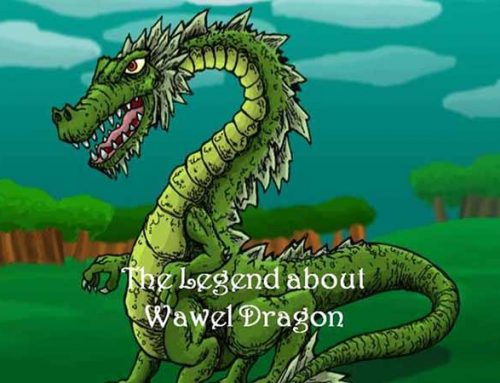 Dragon in Legends 4—Wawel dragon in Poland