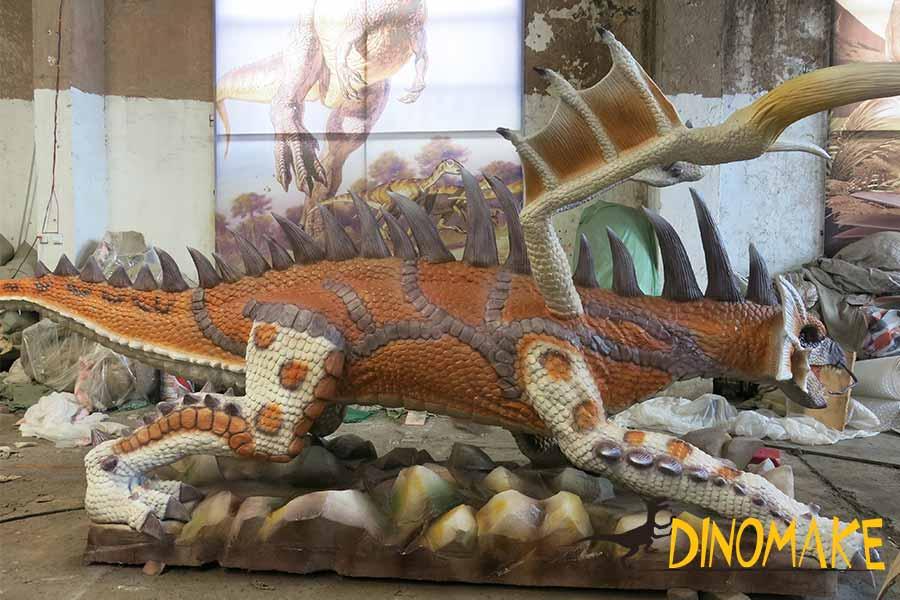 dragon garden statues