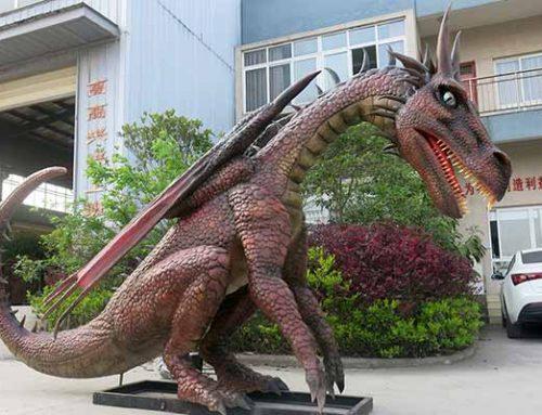 Animatronic Dragon Statues