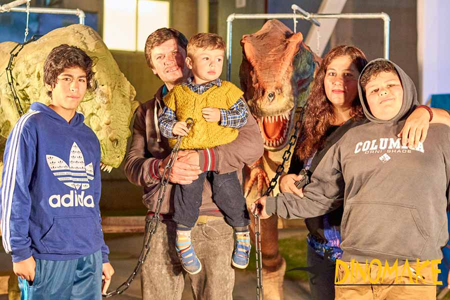 funny dinosaur costume