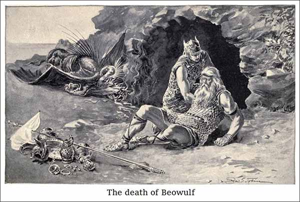 the-death-of-Beowulf