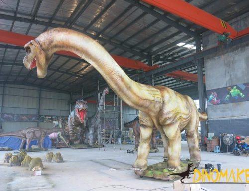 3 meter length Animatronic dinosaur argentina dragon