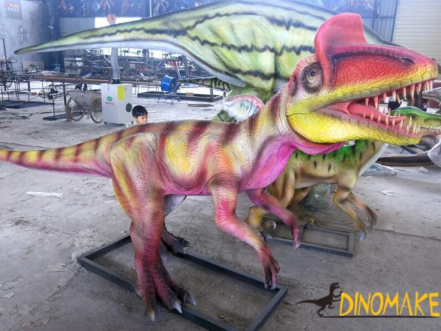 American custom Animatronic dinosaur of ice spinosaurus