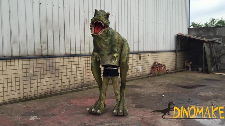 Amusement park mechanical Animatronic dinosaur Costume