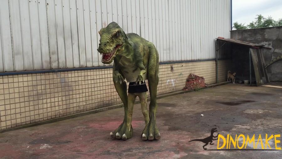 Amusement park mechanical Animatronic dinosaurs Costume