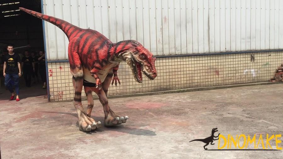 Amusement park mechanical dinosaurs Costume