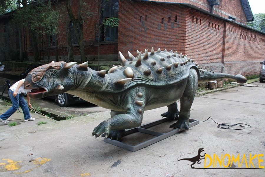Animatronic Dinosaur Ankylosaurus in Canada