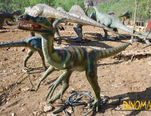 Animated Dinosaur Park in the American West