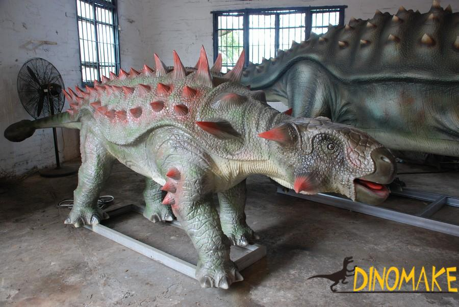 Animated Dinosaur Park facility in Canada