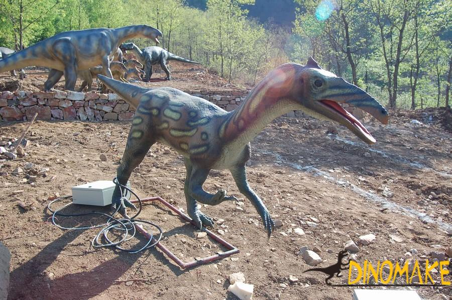 Animated Dinosaur Park in the USA