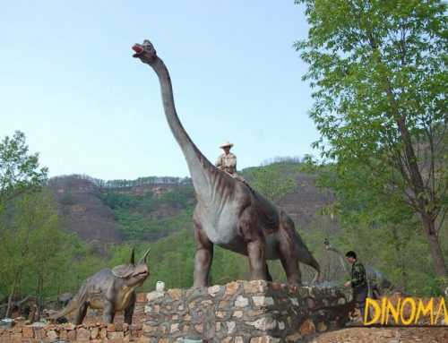 Animated Dinosaur Recreational Facilities on display in Africa