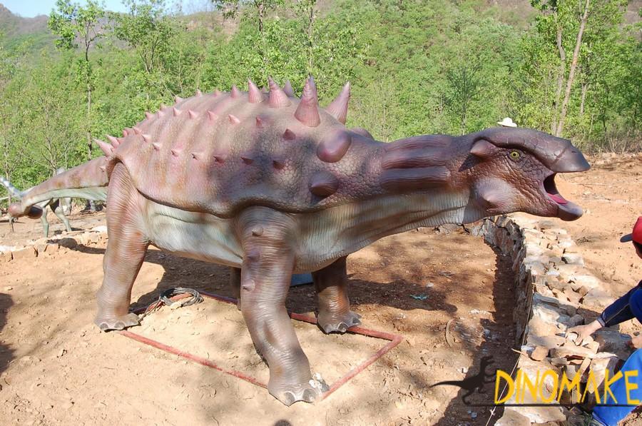 Animated Dinosaur Recreational Facilities on display in Africa