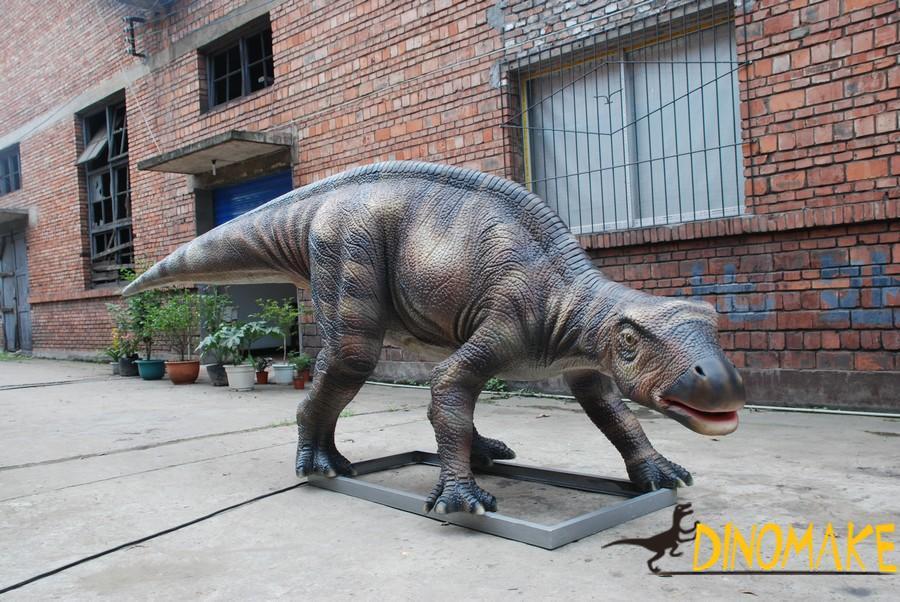 Animated Dinosaur Resurrection in Jurassic Park