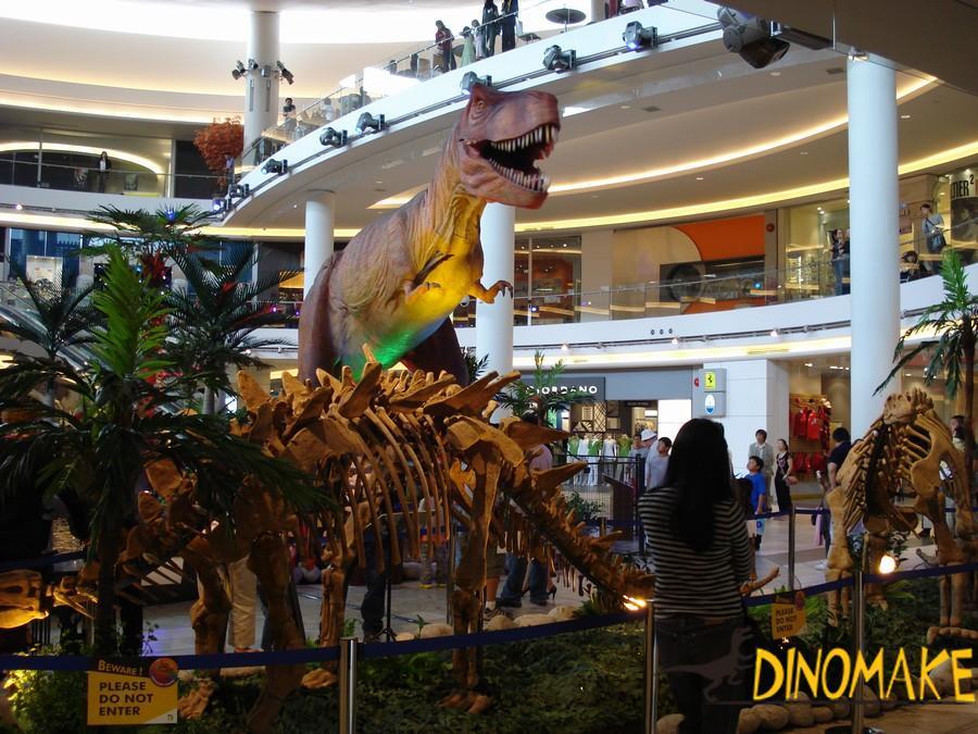 Animated Dinosaur in Jurassic Park