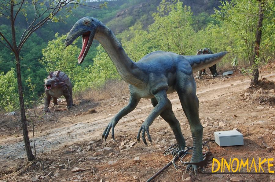 Animated Dinosaur in Theme Park