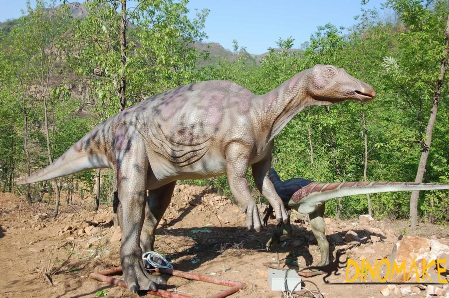 Animated dinosaur decoration for children's entertainment