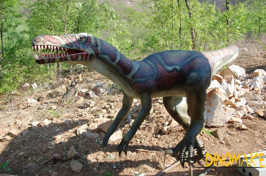 Animated dinosaur decoration for entertainment theme