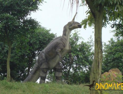 Animated dinosaurs from Jurassic Park, Singapore