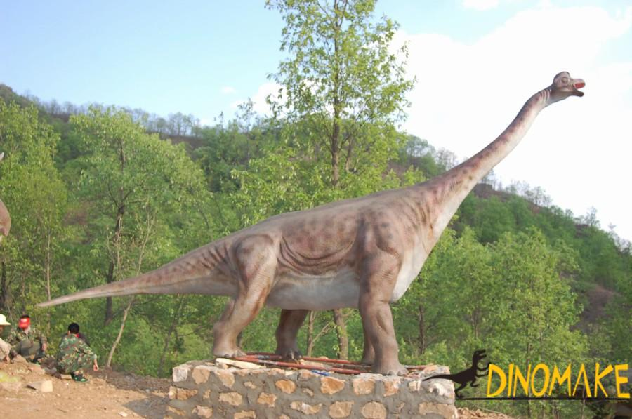 Animated dinosaurs from Jurassic Park