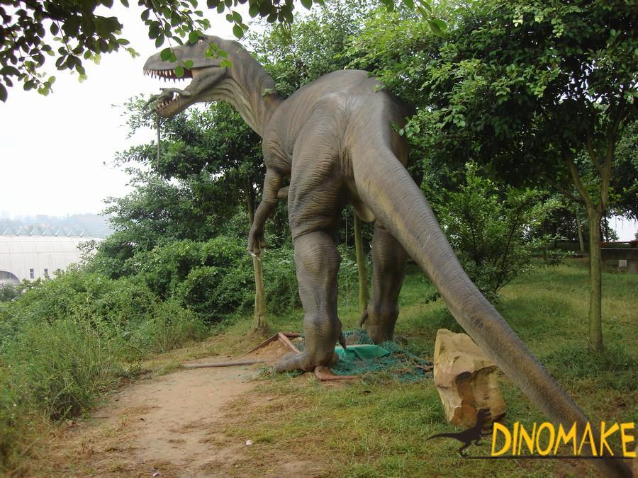 Animated dinosaurs in Jurassic Park