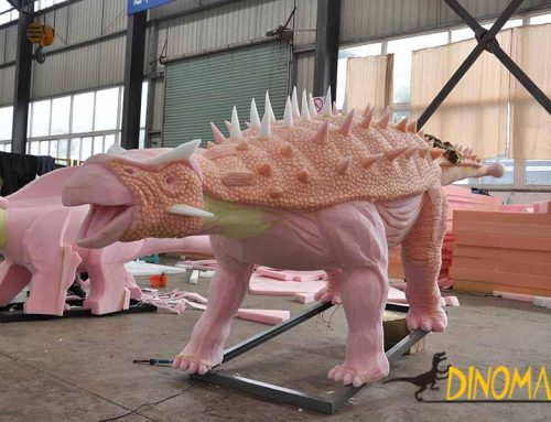 Animatronic Ankylosaurus In Production