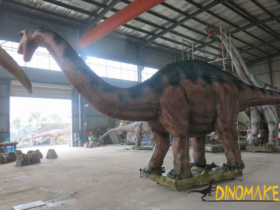 Animatronic Dinosaur Andes Dragon in the Jurassic Park