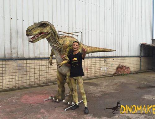 Dinos Park Realistic Size Simulation Animatronic Dinosaur Costume Model