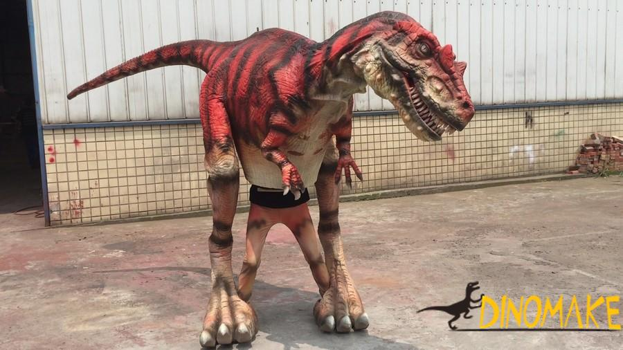 Animatronic Dinosaur Costume in Jurassic Word