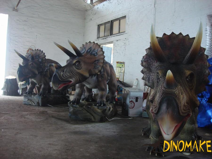 Animatronic Dinosaur Sculpture
