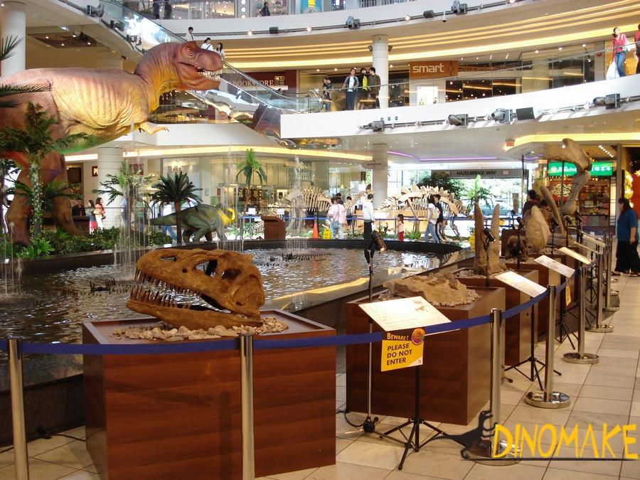 Animatronic Dinosaur Skeleton Exhibition in New York