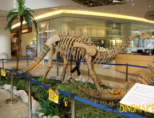 Animatronic Dinosaur Skeleton Exhibition in New York