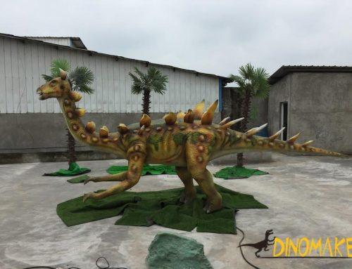 Animatronic Dinosaur Theme Park Stud Dragon