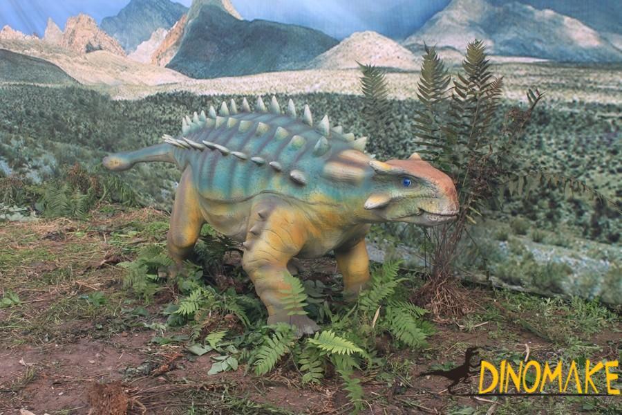 Animatronic Dinosaur of Ankylosaurus
