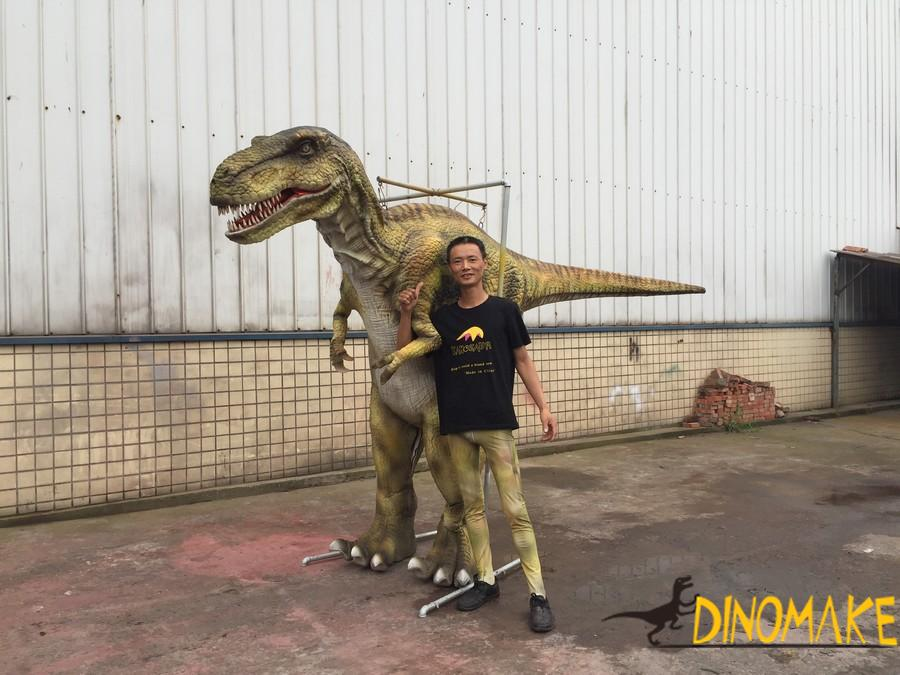 Animatronic Dinosaurs Costume Model