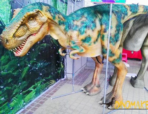 Bangladesh Animatronic Dinosaur Costume Project