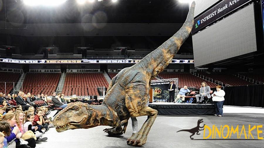 Animatronic Robot Jurassic Park T-Rex Dinosaur Costume