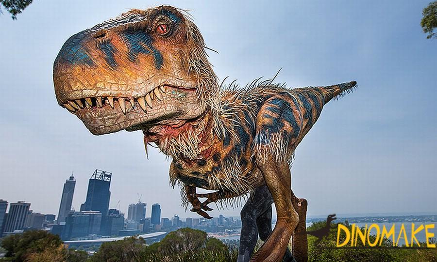 Animatronic T-Rex Dinosaur Costume