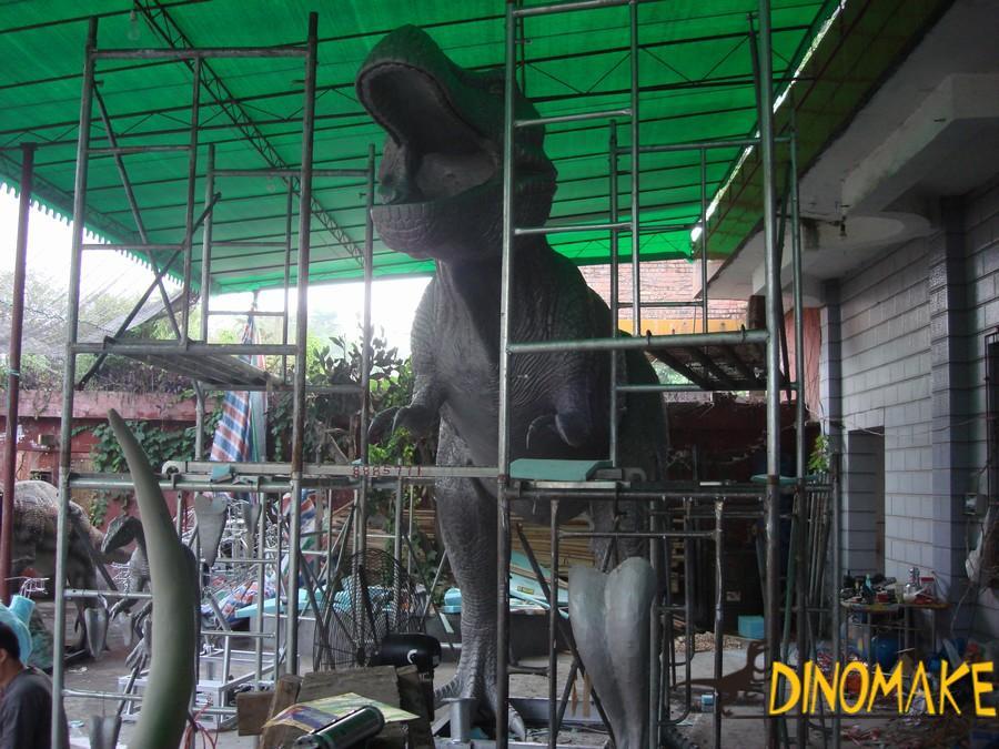 Animatronic animal for creating attractions