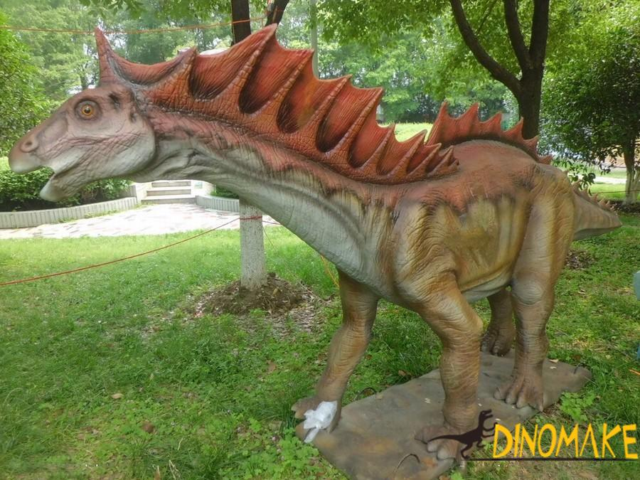 Animatronic dinosaur Amagaron exported to India